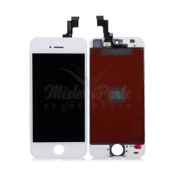 Ecran iPhone 5S Blanc - Premium